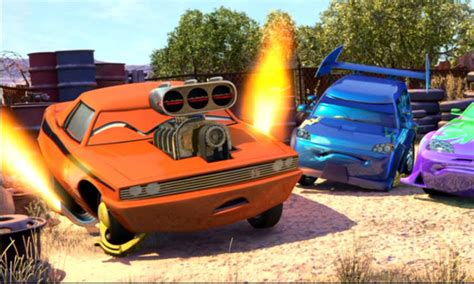The Cars Snot Rod image snot rod in the junkyard jpg disney wiki fandom powered by wikia