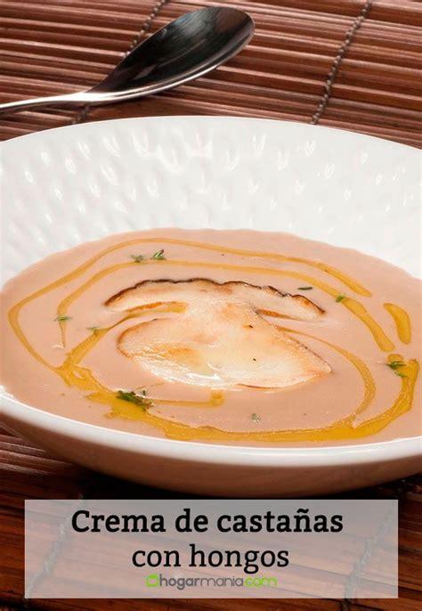 recetas de cocina con hongos receta de crema de casta 241 as con hongos bruno oteiza