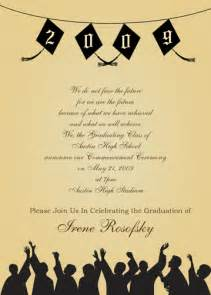 graduation invitation wording graduation invitations wording template best template collection