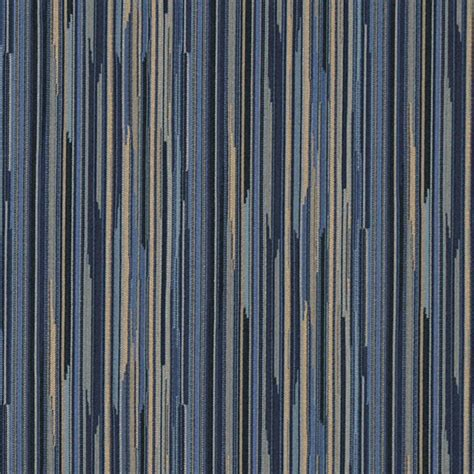 Striped Upholstery Fabrics navy blue gold abstract striped contract grade upholstery