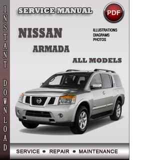 service manual car repair manuals download 2005 nissan armada user handbook 2005 nissan