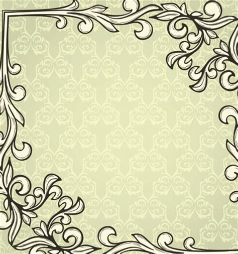 graphic design frame vector set of delicate frames design vector graphic 04 vector