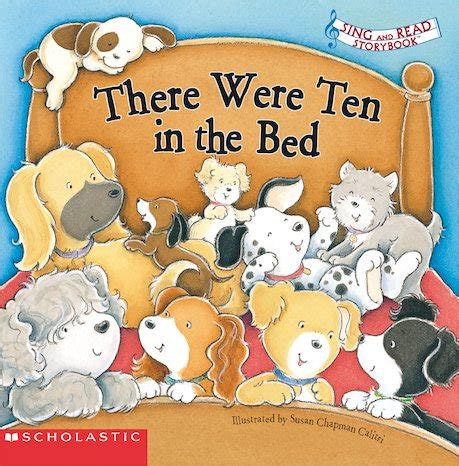 There Were Ten In The Bed sing and read storybook there were ten in the bed scholastic club