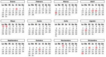 Calendario Con Dias Feriados 2017 Calendario Laboral Con Festivos 2017 Madrid Calendario