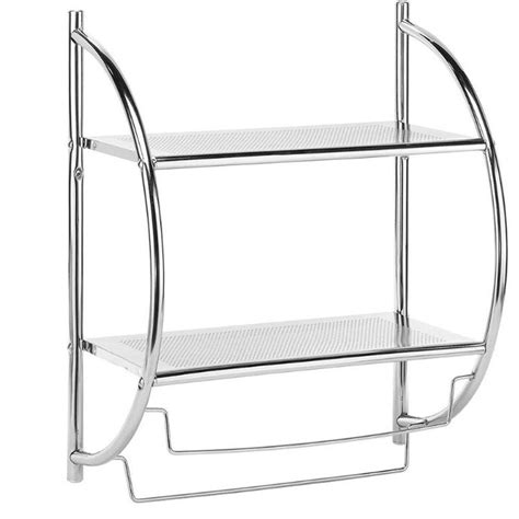 home decorators collection 2 shelves and towel rack in