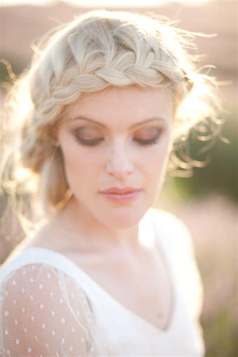 Chic Braids For Your Wedding Day In South Africa | coiffure de mari 233 e la tresse romantico boh 232 me mariage com