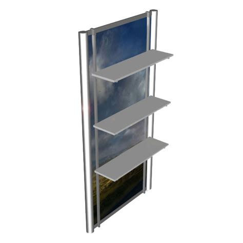 trade show display shelving rental tradeshow exhibit accessories capitol tradeshow