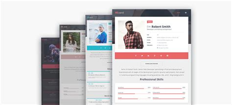 templates wordpress resume 20 best wordpress resume themes for your personal website