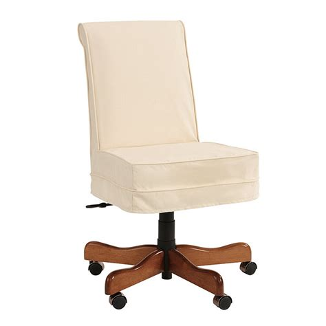 Desk Chairs Ballard Designs Covington Desk Chair Slipcover Ballard Designs