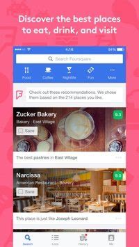 foursquare mobile app 16 mobile apps for networking events practical ecommerce