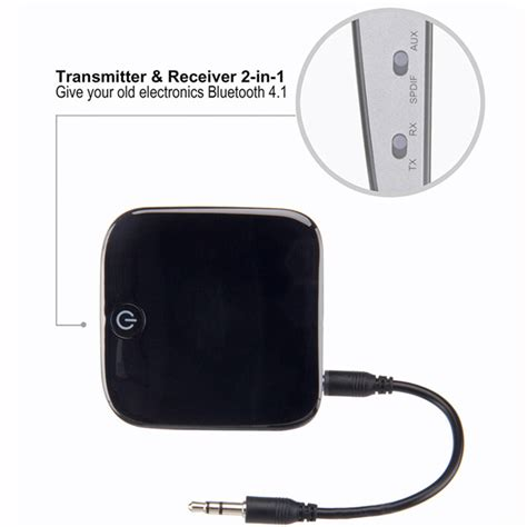 Hifi Audio Bluetooth Transmitter Receiver 3 5mm Spdif Murah hifi audio bluetooth transmitter receiver 3 5mm spdif black jakartanotebook