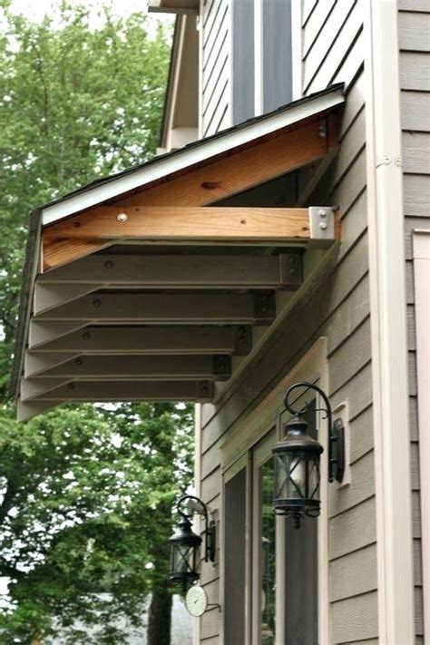 awning doors exterior diy exterior door best rustic awning images on window
