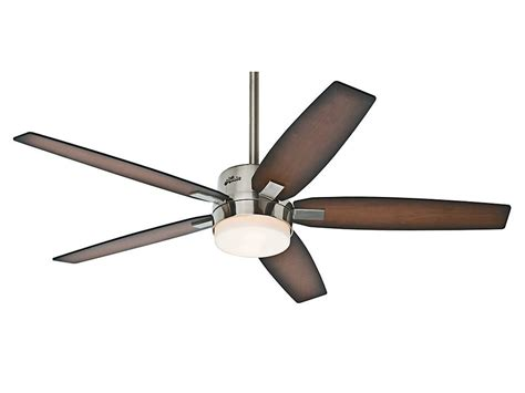 54 contempo led brushed nickel fan with remote hunter 54 quot windemere brushed nickel 3 speed remote ceiling