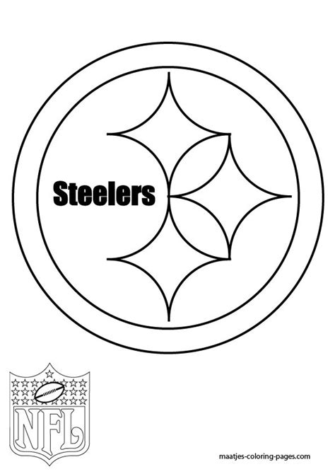 steeler colors pittsburgh steelers logo coloring page favorite recipes