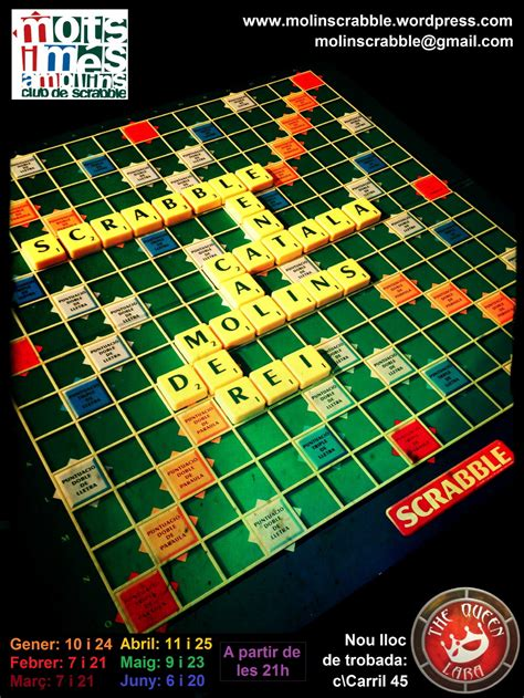is quan a word in scrabble cartell tot escrable