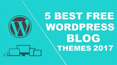 best free themes responsive 5 best free responsive themes 2017