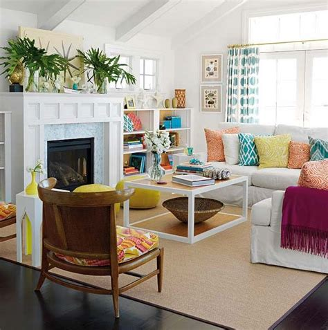 Bright Colored Living Rooms | bright living room colors modern house