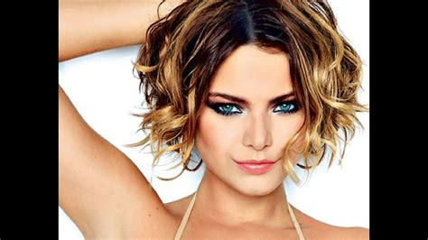 short hairstyles  wavy hair youtube