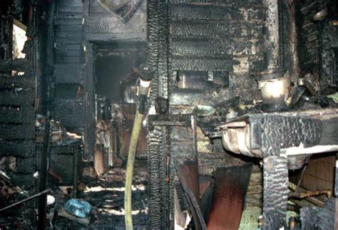 florida memory interior  fire damaged house