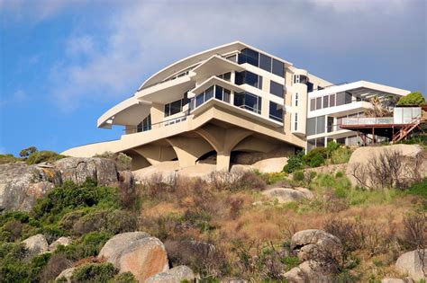 house on side of cliff 32 modern home designs photo gallery exhibiting design talent concrete decking