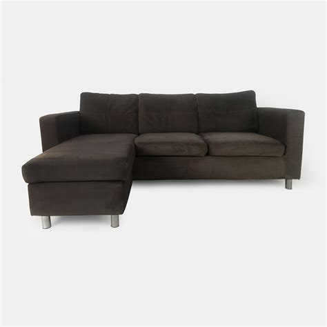 chocolate brown suede sectional brown suede brown suede and loveseat brown