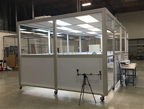 portable rooms portable clean room weaver technologies