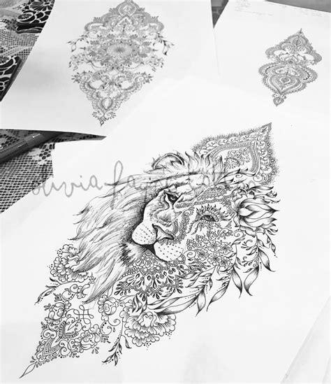 tattoo mandala knie mandala lion women s tattoo strong independent tattoos