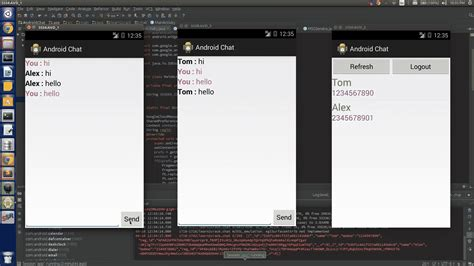 chat android android chat application using gcm client