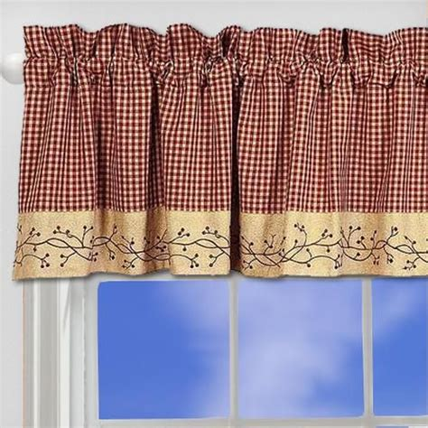 Primitive Country Kitchen Curtains 57 Best Images About Primitive Curtains On Window Treatments Plaid And Country Curtains