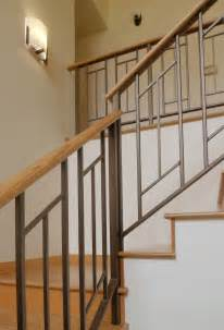 Staircase Handrail Design Mid Century Modern Sixties Makeover Live Work Play