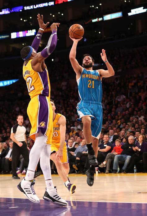 Topi Los Angeles Lakers New 1 dwight howard photos photos new orleans hornets v los angeles lakers zimbio
