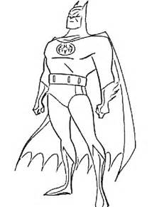 batman color colouring pages