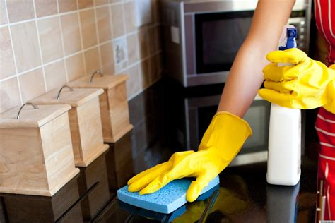Cleaning Kitchen by How To Clean Your Kitchen The Right Way We Clean America