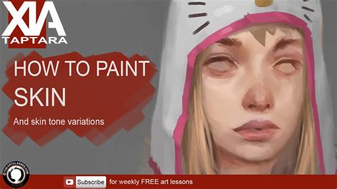how to paint how to paint skin youtube