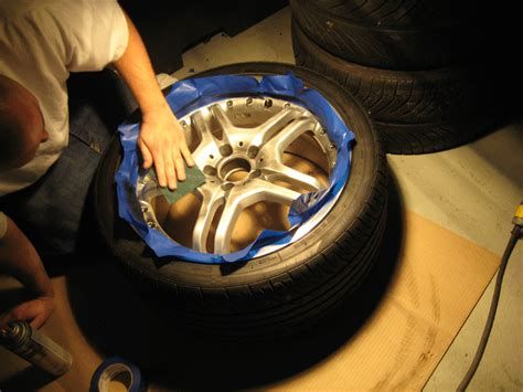 spray paint your rims budget auto diy hack how to spray paint your rims