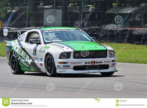 mustang challenge mustang challenge racing editorial stock photo image