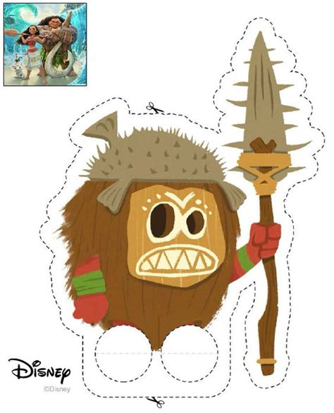 Papercrafts Co Uk - http inspired disney co uk crafts papercraft kakamora