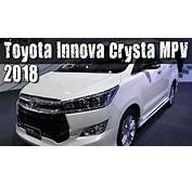 2018 Toyota Innova Crysta Compact MPV Facelift Review