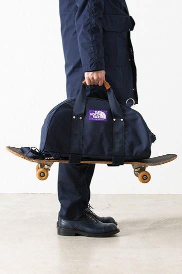 north face purple label   duffle bag hypebeast