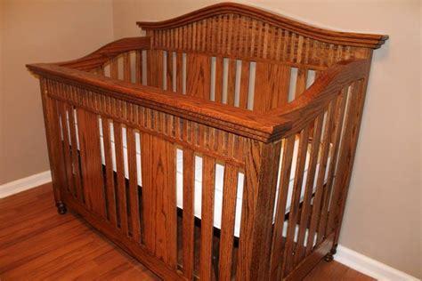Oak Baby Bed Oak Baby Crib By Randy Sharp Lumberjocks