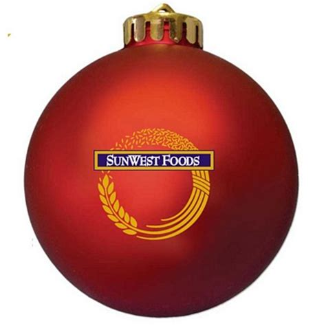 brand logo christmas ornament