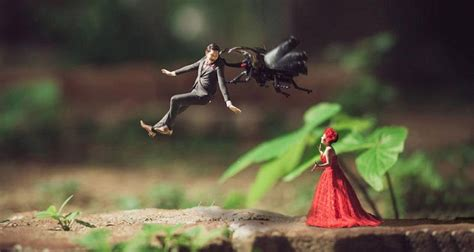 Wedding Miniature by This Wedding Photography With Miniature Is Spectacular