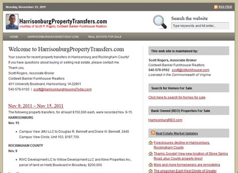 Rockingham County Property Tax Records Harrisonburgpropertytransfers Your Source For