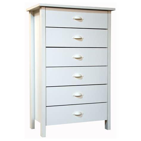 white lingerie dresser venture horizon nouvelle collection 6 drawer lingerie