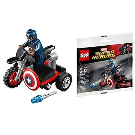 Lego 30447 Captain Amerika lego marvel captain america civil war captain americas motorcycle mini set 30447 bagged