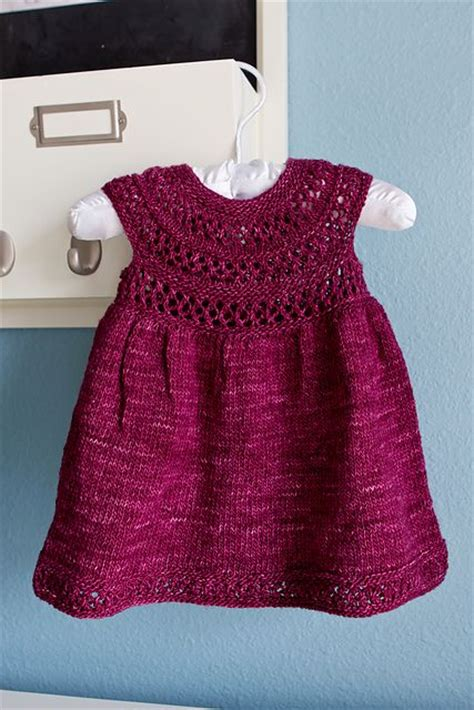 pattern knitting baby dress baby knitting patterns ravelry mischa baby dress pattern