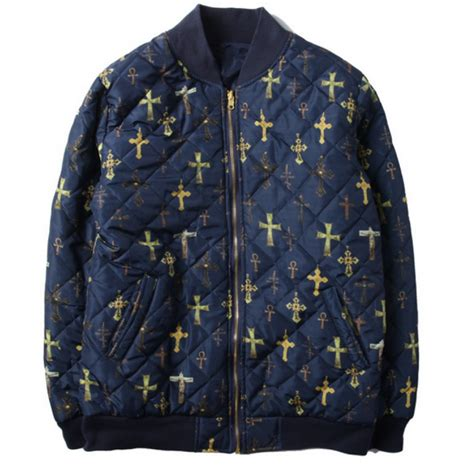 supreme nyc supreme nyc all cross zip up jacket navy supreme