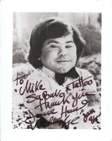 golden age autographs herve villechaize