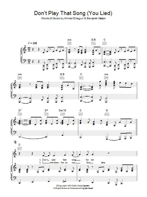 what is that song that plays during the new mitsubishi don t play that song you lied sheet music direct