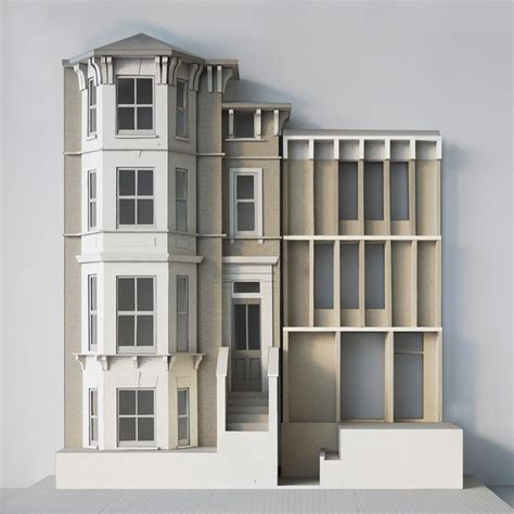 miniature homes models 25 best ideas about model house on pinterest